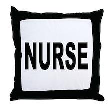 Nurse Throw Pillow