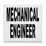 Mechanical Engineer Tile Coaster