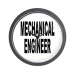 Mechanical Engineer Wall Clock