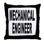 Mechanical Engineer Throw Pillow