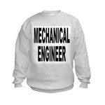 Mechanical Engineer (Front) Kids Sweatshirt