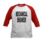 Mechanical Engineer (Front) Kids Baseball Jersey