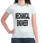 Mechanical Engineer (Front) Jr. Ringer T-Shirt