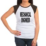 Mechanical Engineer (Front) Women's Cap Sleeve T-S