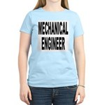 Mechanical Engineer (Front) Women's Pink T-Shirt