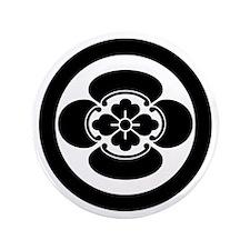 "Mokko in circle 3.5"" Button"