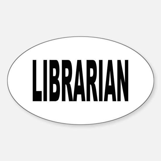 Librarian Oval Decal