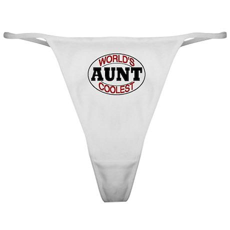 COOL AUNT Classic Thong