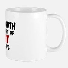 Wipe Your Mouth Small Small Mug