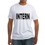 Intern (Front) Fitted T-Shirt