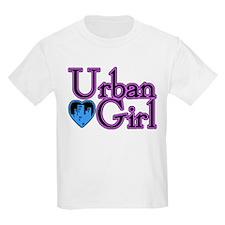 Urban Girl City Life Kids T-Shirt