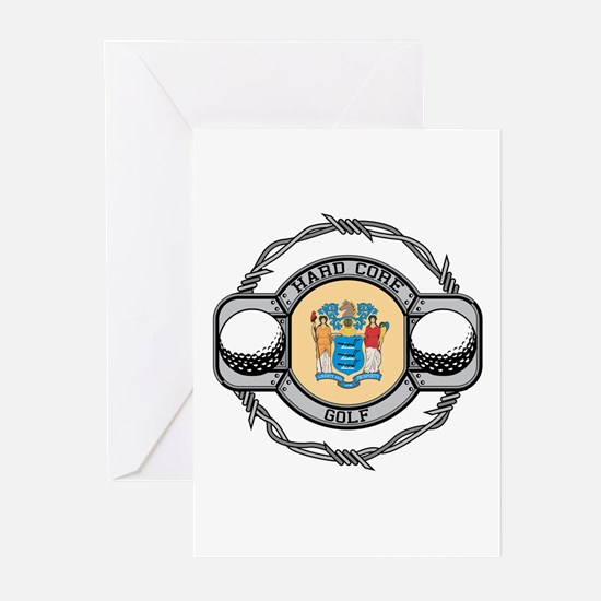 New Jersey Golf Greeting Cards (Pk of 10)