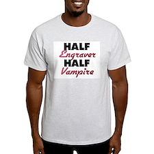 Half Engraver Half Vampire T-Shirt
