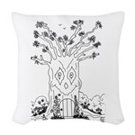 emma walters memories.tree. Woven Throw Pillow