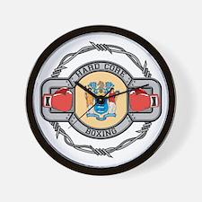 New Jersey Boxing Wall Clock