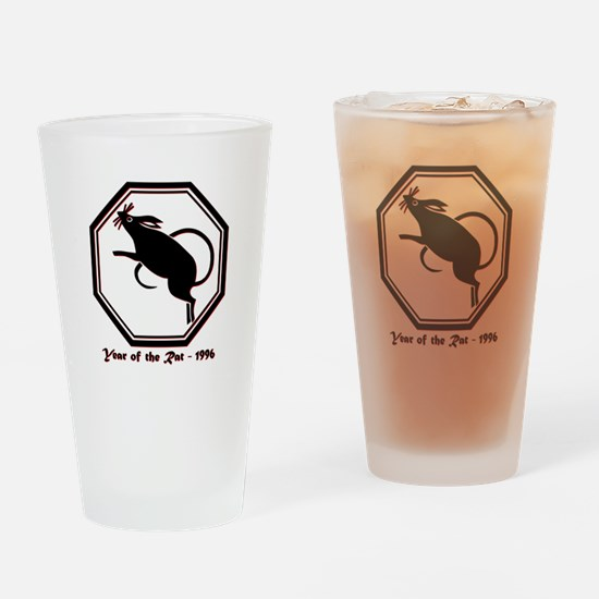 Year of the Rat - 1996 Drinking Glass