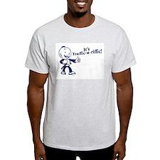 Traffic-A-Riffic! Ash Grey T-Shirt