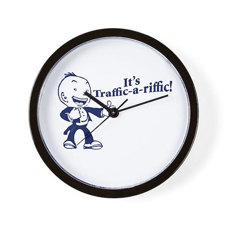 Traffic-A-Riffic! Wall Clock