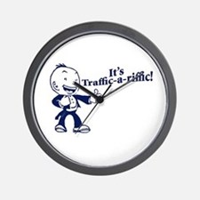 Traffic-A-Riffic! Wall Clock