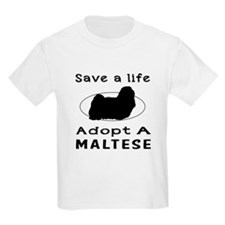 Adopt A Maltese Dog T-Shirt