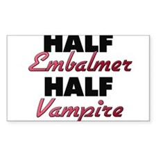 Half Embalmer Half Vampire Decal