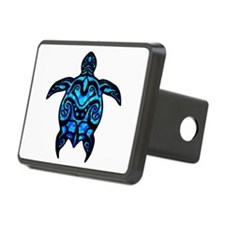 Black Tribal Turtle Hitch Cover