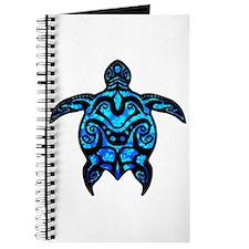 Black Tribal Turtle Journal