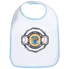 New Jersey Baseball Bib