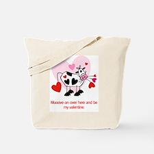 Valentine Cow Tote Bag
