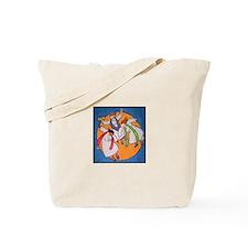 Cute Women priests Tote Bag