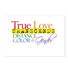 Cute Glbt valentine's day Postcards (Package of 8)