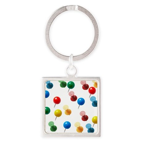 Push Pins Keychains