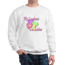 My Sweetheart is a Soldier Sweatshirt