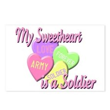 My Sweetheart is a Soldier Postcards (Package of 8