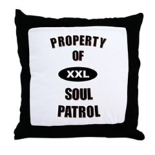Soul Patrol Property Throw Pillow