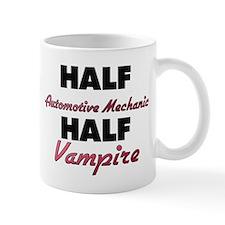 Half Automotive Mechanic Half Vampire Mugs
