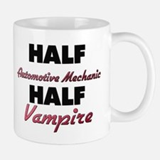 Half Automotive Mechanic Half Vampire Mugs