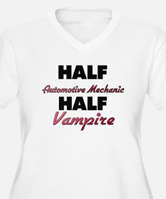 Half Automotive Mechanic Half Vampire Plus Size T-