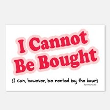 Can't Be Bought! Postcards (Package of 8)