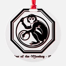 Year of the Monkey - 1956 Ornament
