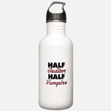 Half Auditor Half Vampire Water Bottle