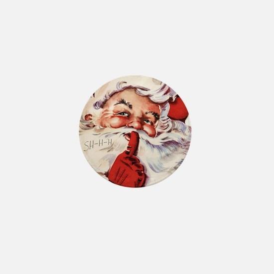 Santa002 Mini Button