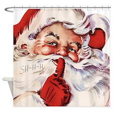 Santa002 Shower Curtain