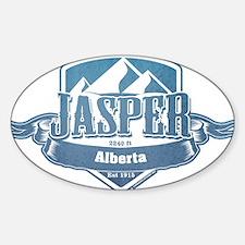 Jasper Alberta Ski Resort Decal