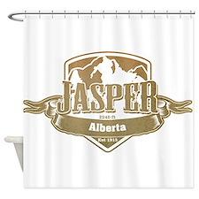 Jasper Alberta Ski Resort 4 Shower Curtain