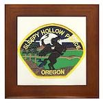 Sleepy Hollow Police Framed Tile