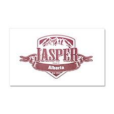 Jasper Alberta Ski Resort 2 Car Magnet 20 x 12