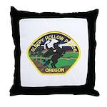 Sleepy Hollow Police Throw Pillow