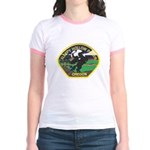 Sleepy Hollow Police Jr. Ringer T-Shirt