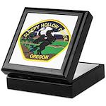 Sleepy Hollow Police Keepsake Box